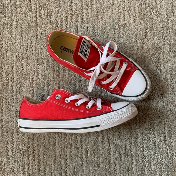 Converse All Star Red Chuck Taylors Unisex 53eb4c6b9